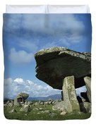 Kilclooney, Co Donegal, Ireland Dolmen Duvet Cover by The Irish Image Collection