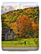 Kindred Barns Painted Duvet Cover by Steve Harrington