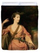 Lady Dawson Duvet Cover by Sir Joshua Reynolds