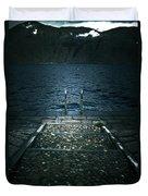 Lake In The Winter Duvet Cover by Joana Kruse