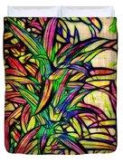 Leaves of Imagination Duvet Cover by Judi Bagwell