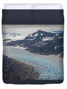 Leconte Glacial Flow Duvet Cover by Mike Reid