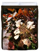 Light As Paper Duvet Cover by Trish Hale