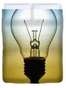 light bulb Duvet Cover by Setsiri Silapasuwanchai