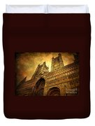Lincoln Cathedral Duvet Cover by Yhun Suarez