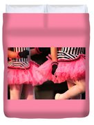 Little Pink Tutus Duvet Cover by Lauri Novak