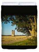 Lonely Silo 4 Duvet Cover by Douglas Barnett