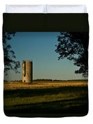 Lonly Silo 5 Duvet Cover by Douglas Barnett