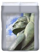 Look To The Sky - L Duvet Cover by Mike McGlothlen