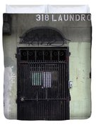 Lost In Urban America - Laundromat - Tenderloin District - San Francisco California - 5d19347 Duvet Cover by Wingsdomain Art and Photography