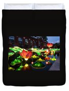 Lotus Flower Duvet Cover by Semmick Photo