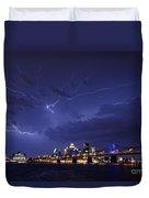 Louisville Storm - D001917b Duvet Cover by Daniel Dempster