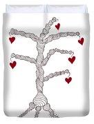 Love Tree Duvet Cover by Frank Tschakert