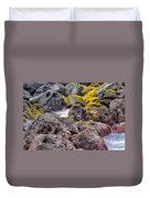 Low Tide Duvet Cover by Roger Mullenhour