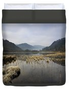 Lower Lake, Glendalough, County Duvet Cover by Peter McCabe