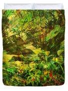 Lush Escape Duvet Cover by Maria Eames
