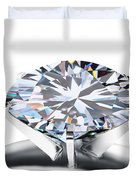Luxury Wedding Ring  Duvet Cover by Setsiri Silapasuwanchai