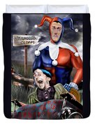 Mad Men Series 5 Of 6 - Sorry Grandma But You Got To Go Duvet Cover by Reggie Duffie