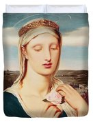 Madonna Duvet Cover by Simeon Solomon