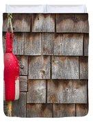 Maine Lobster Shack Duvet Cover by Steve Gadomski