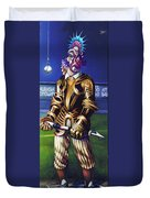 Major League Gladiator Duvet Cover by Patrick Anthony Pierson