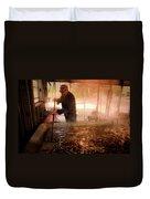 Makin' Molasses Duvet Cover by Tamyra Ayles