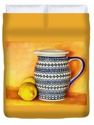 Making Lemonade Duvet Cover by Tammy Wetzel