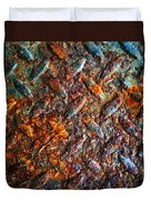 Man Made Trees Duvet Cover by Jerry Cordeiro
