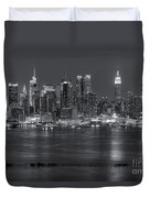 Manhattan Twilight Vii Duvet Cover by Clarence Holmes