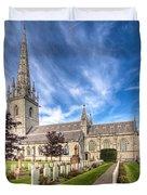 Marble Church Duvet Cover by Adrian Evans