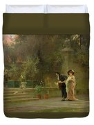 Married For Love Duvet Cover by Marcus Stone