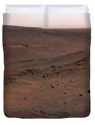 Mars Exploration Rover Spirit Duvet Cover by Stocktrek Images