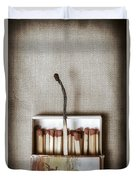 Matches Duvet Cover by Joana Kruse