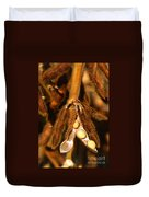 Mature Soybeans Duvet Cover by Science Source
