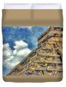 Mayan Mysteries Duvet Cover by Jeff Kolker