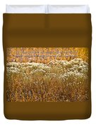 Men Are Like Grass Duvet Cover by Carolyn Marshall