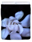 Midnight Gardenia Duvet Cover by Judi Bagwell