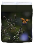 Monarch In Morning Light Duvet Cover by Rob Travis