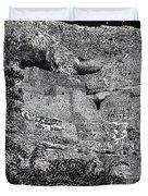 Montezuma Castle Duvet Cover by Jack Pumphrey