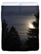 Moon Rising 01 Duvet Cover by Thomas Woolworth
