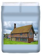 Moot Hall Aldeburgh Duvet Cover by Chris Thaxter