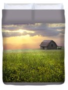 Morning Has Broken Duvet Cover by Debra and Dave Vanderlaan