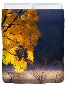 Morning Maple Ll Duvet Cover by Rob Travis
