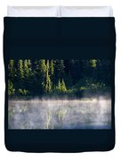 Morning Mist Duvet Cover by Mike  Dawson
