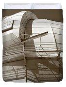 Mount Wilson Observatory Duvet Cover by Lorraine Devon Wilke