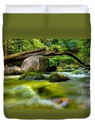 Mountain Stream Duvet Cover by Christopher Holmes