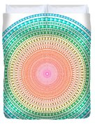 Multicolor Circle Duvet Cover by Atiketta Sangasaeng