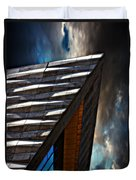 Museum Of Liverpool Duvet Cover by Meirion Matthias