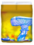 Mushroom Whimsy  Duvet Cover by Marie Jamieson
