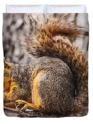 My Nut Duvet Cover by Robert Bales